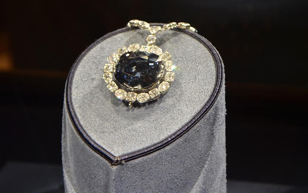Hope Diamond, Smithsonian Natural History Museum - Bucket List Marked Off Washington DC