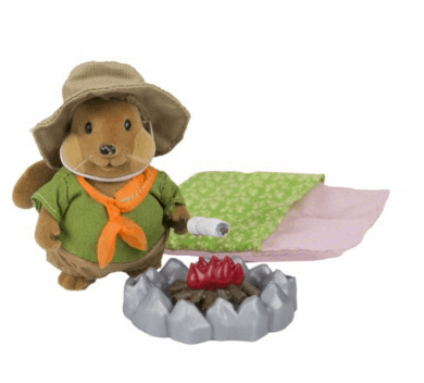 Woodland Forest Animal Camping Play Set for Kids