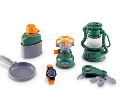 Camping Play Set for Toddlers & Preschool