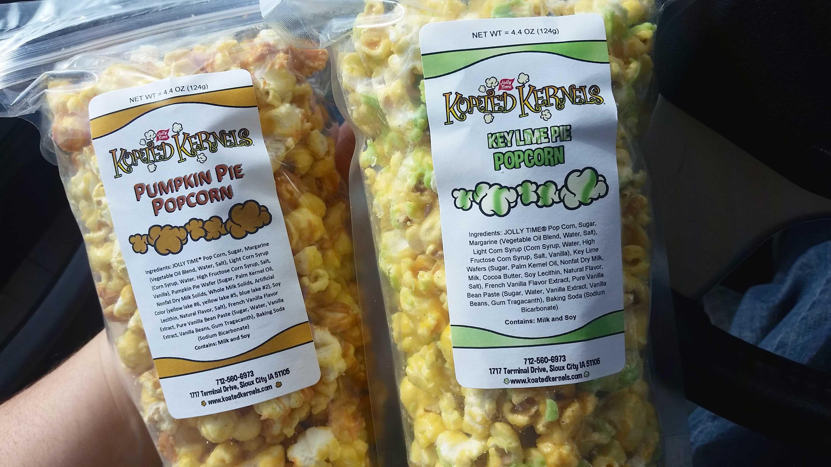 Koated Kernels Jolly Time Popcorn Shop