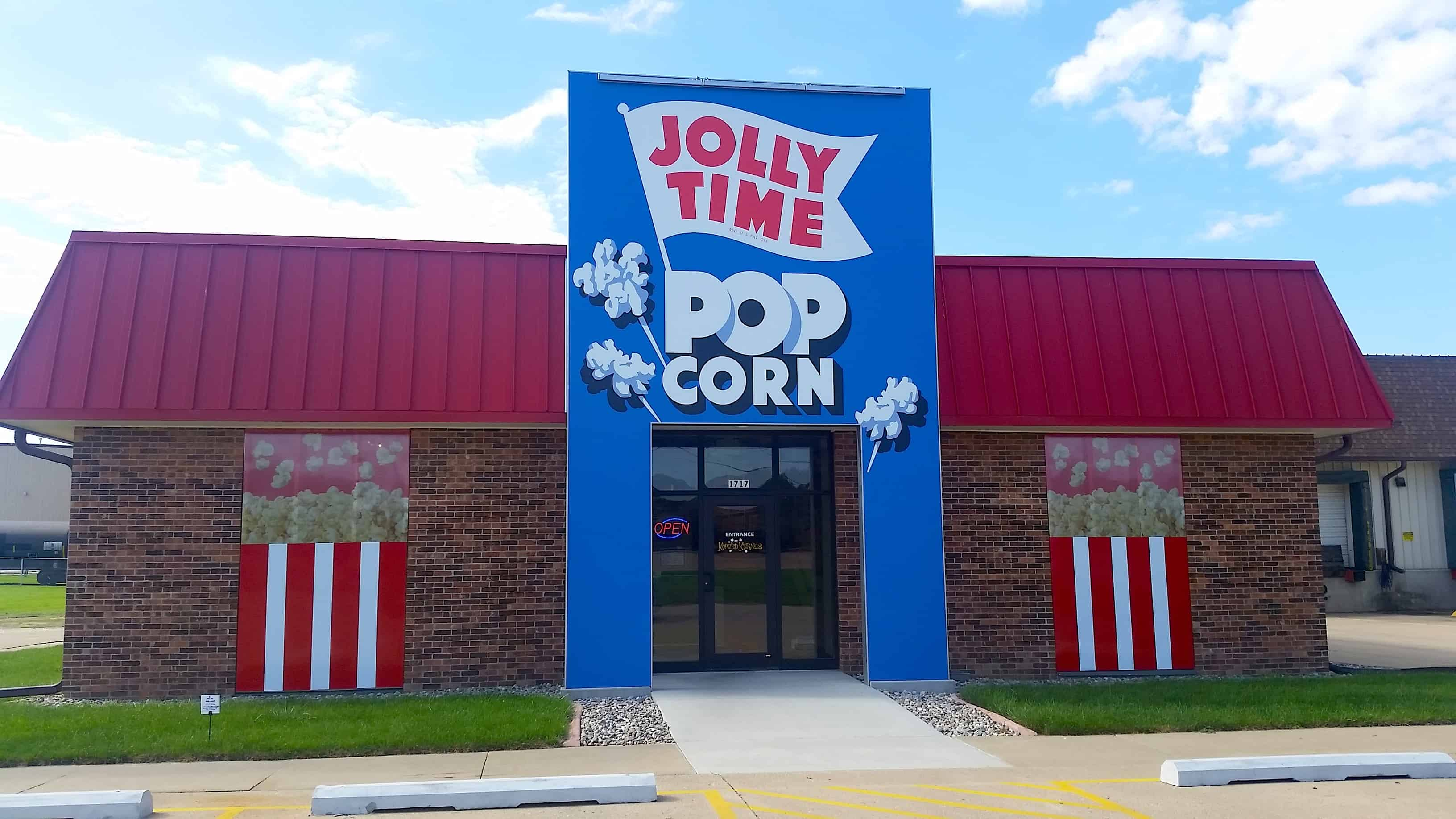 Koated Kernels Jolly Time Popcorn Shop
