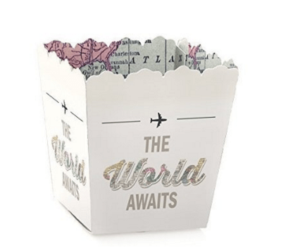 World Awaits Travel Favor Boxes