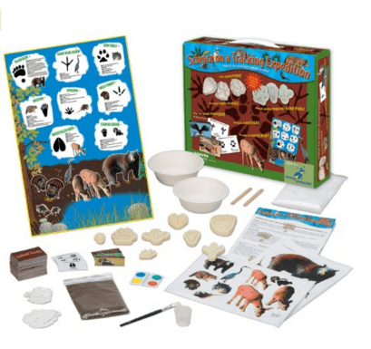 Animal Tracks Kid's Science Experiment Kit