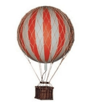 Vintage Balloon Travel Decor