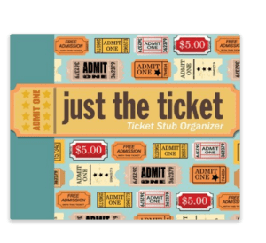 Travel Ticket Stub Organizer