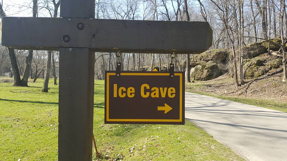 ice cave in Iowa - BEST Places to Visit in Central East Iowa