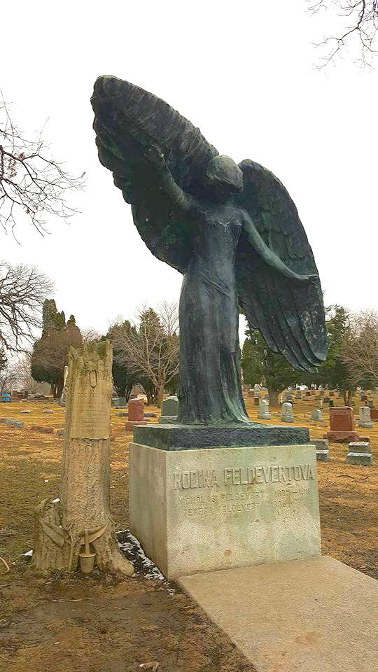 haunted Black Angel - BEST Places to Visit in Central East Iowa