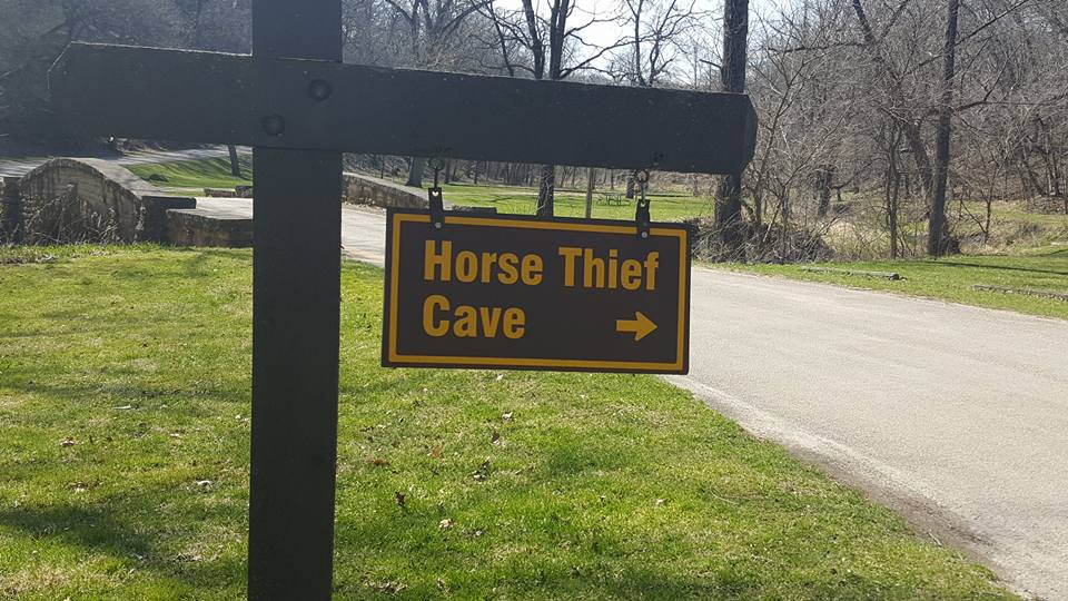 Horse Thief Cave in Iowa - BEST Places to Visit in Central East Iowa