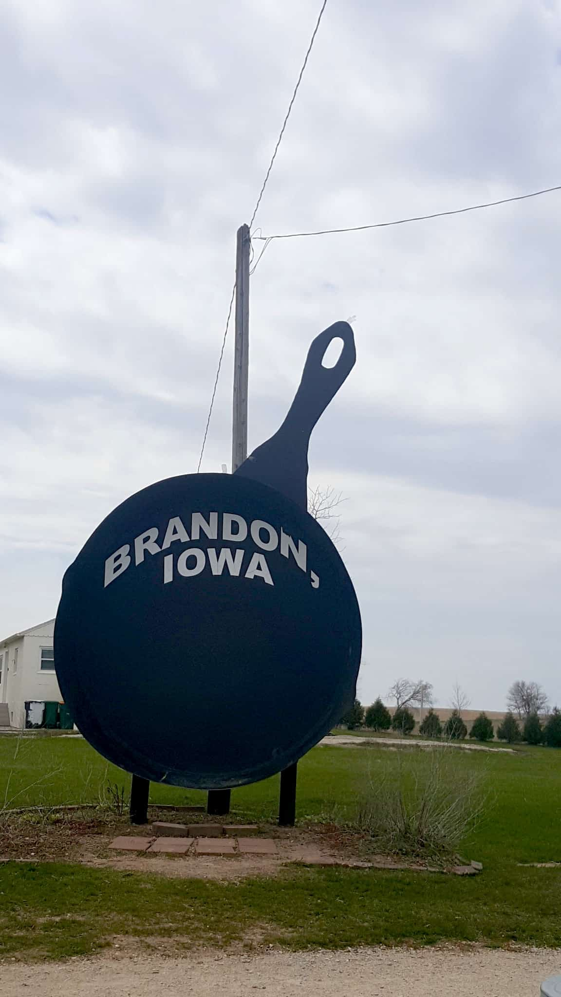 Iowa's Largest Frying Pan - BEST Places to Visit in Central East Iowa