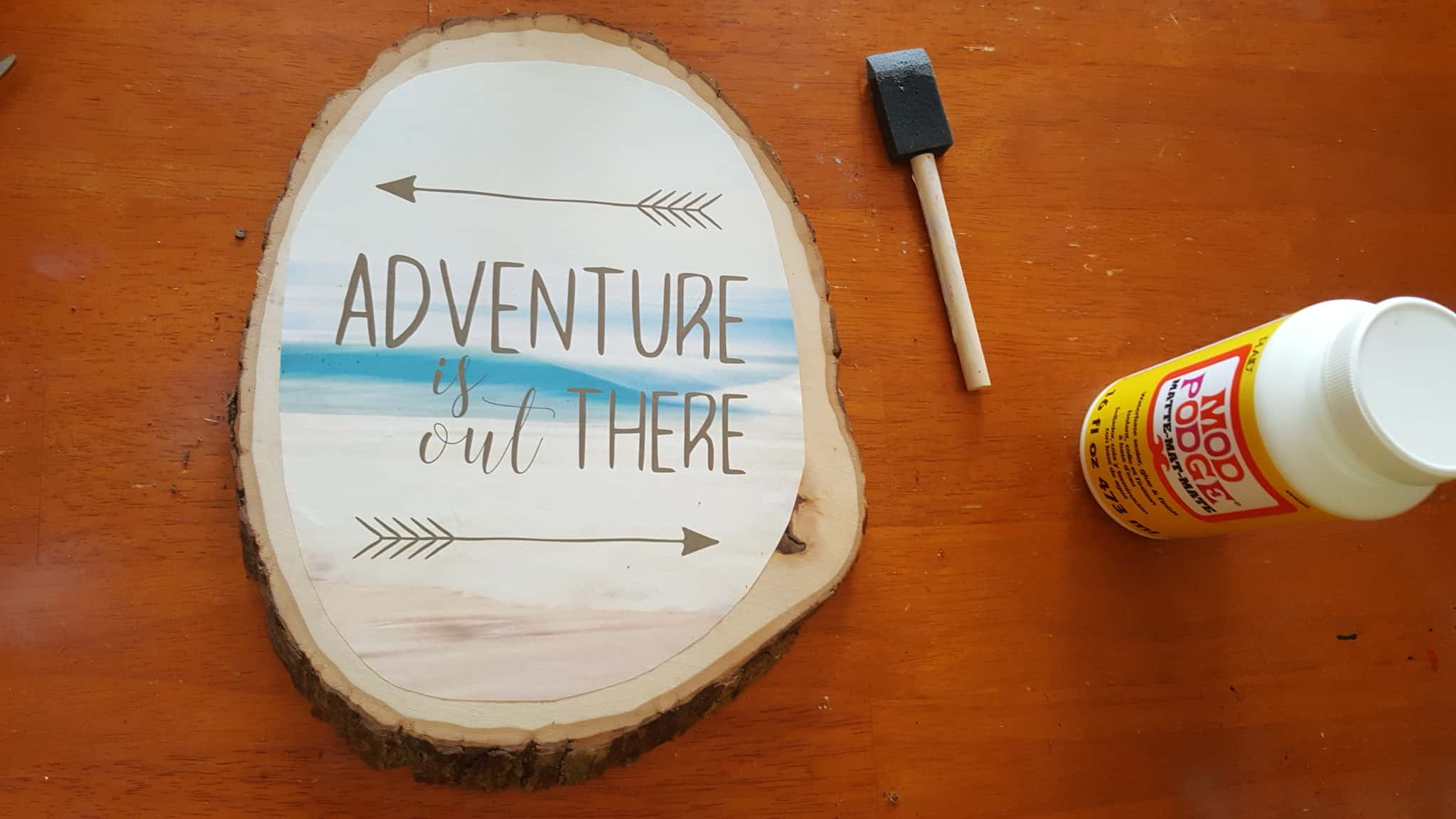 Printable Travel Art - Adventure is Out There Home & Camper Decor