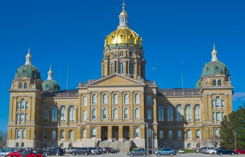 Information on Iowa State Capitol Tours in Des Moines
