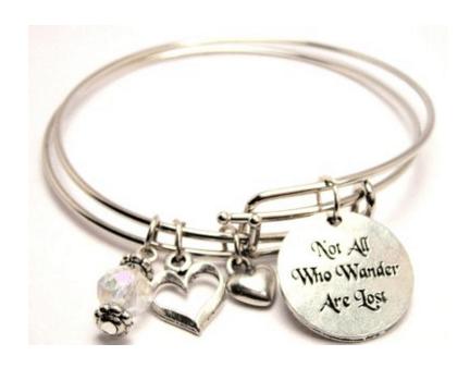 travel wanderlust bracelet jewelry