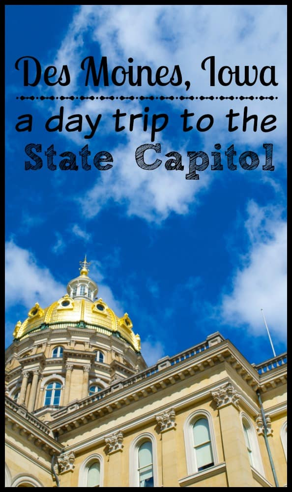 Des Moines Iowa State Capitol building