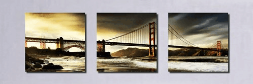San Francisco Golden Gate Bridge Art
