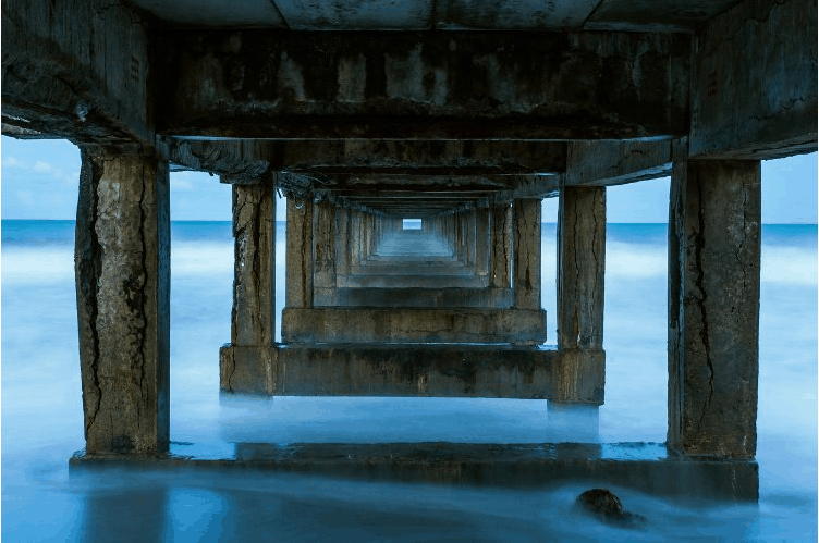 Fine Art Metal Print Ocean travel inspiration