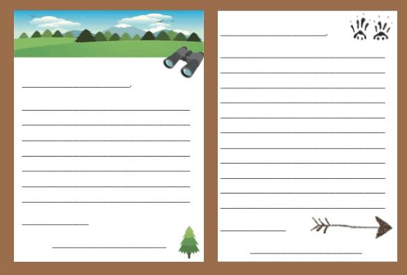 Free Printable Summer Camp Letters