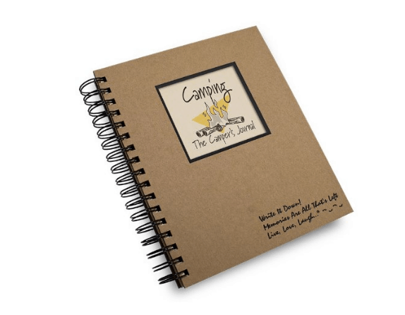 Camping Journal Nature themed for Writing