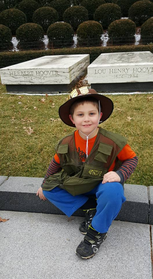 National Junior Ranger Program Exploring Herbert Hoover National Historic Home