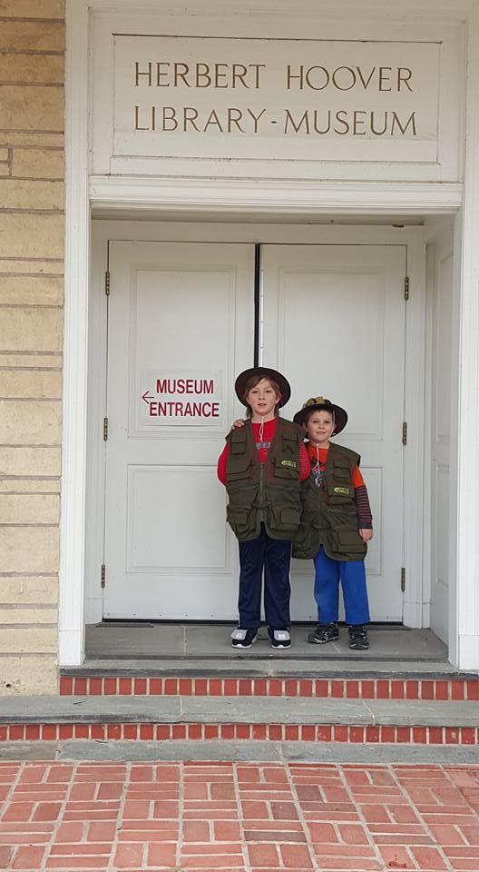 National Junior Ranger Program Exploring Herbert Hoover National Historic Home