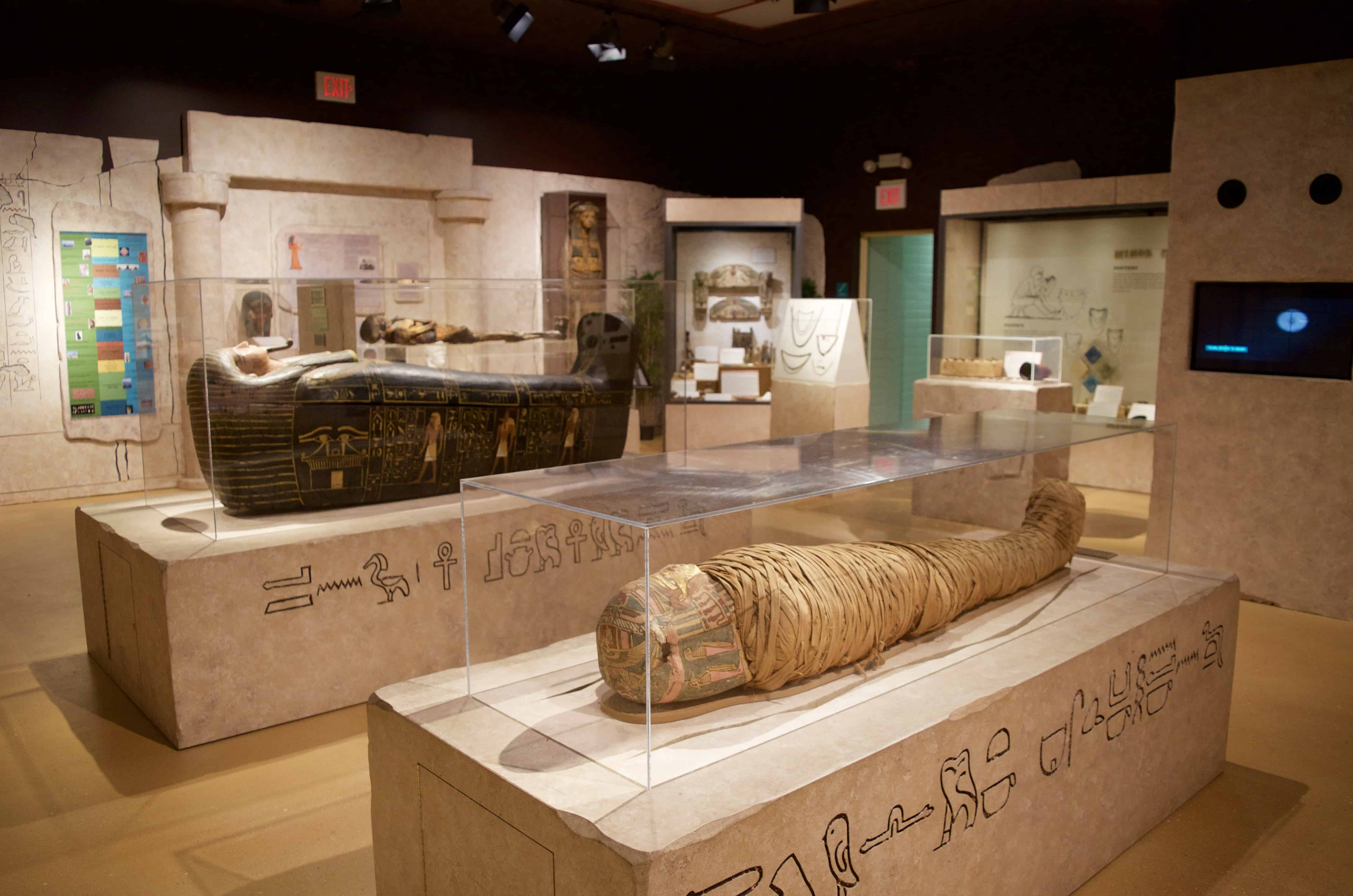 The Stunning King Tut Exhibit at the Putnam Museum