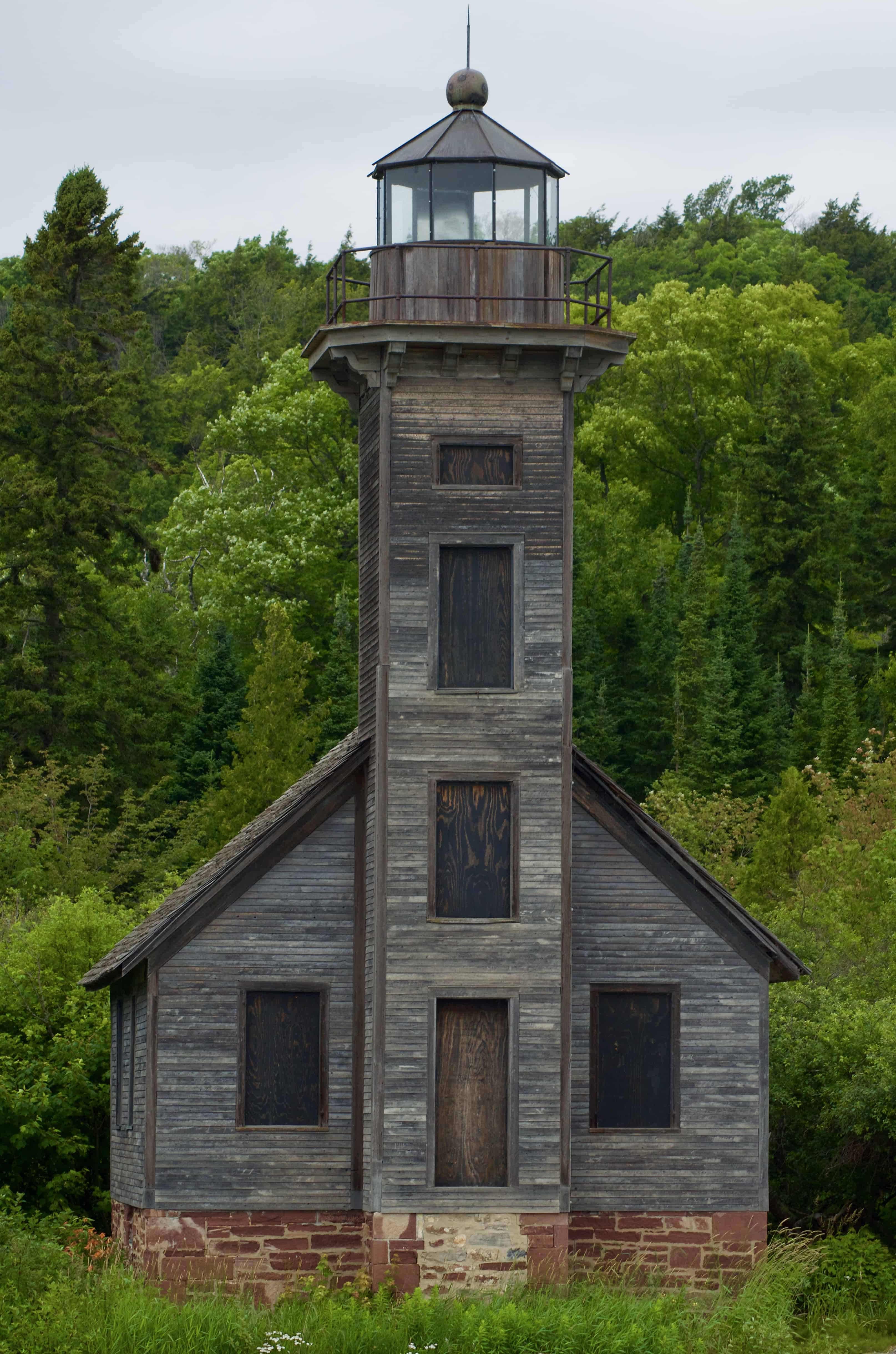 Historic Lighthouse on Shipwreck Tours in Munising Michigan