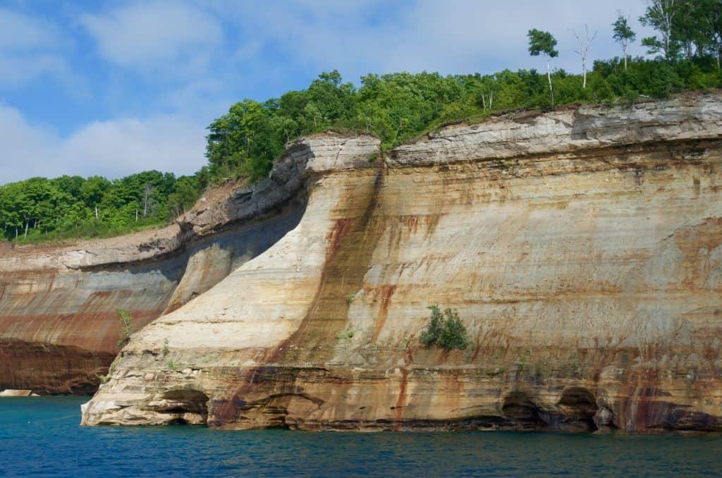 Pictured Rocks Cruise on Lake Superior in Munising Michigan