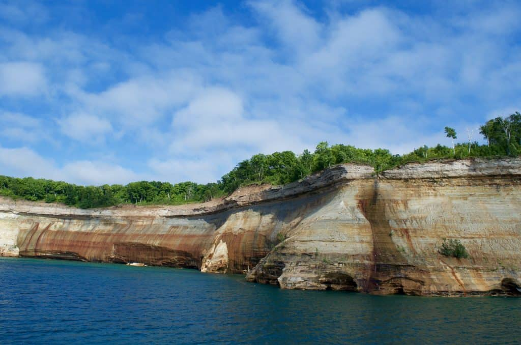 Pictured Rocks Cruise on Lake Superior in Munising Michigan