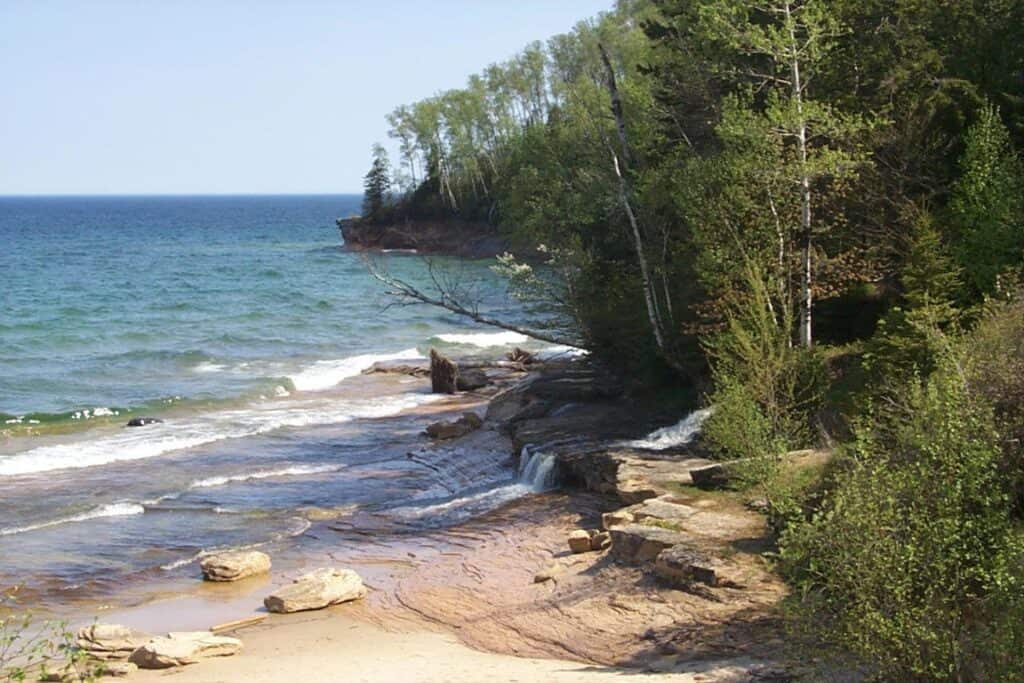 Miner's Beach Pictured Rocks