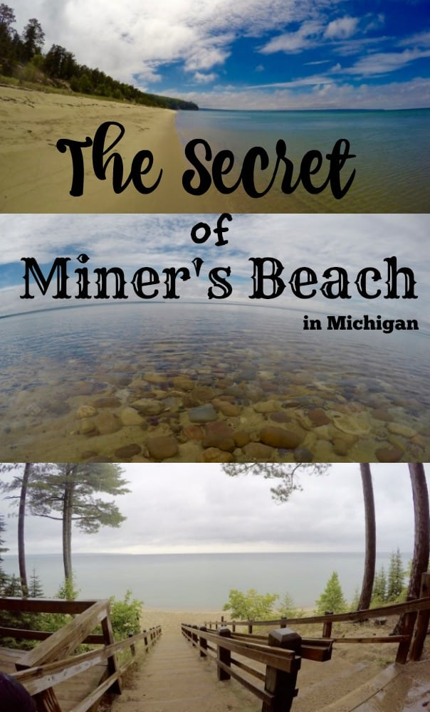 beautiful beach in Michigan Lake Superior