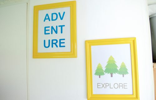 FREE Explore and Adventure Travel Printable Wall Art Decor