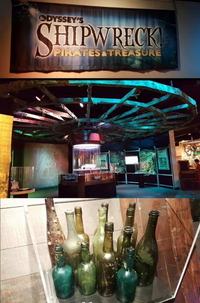 Odyssey Zeus ROV Shipwreck Pirates and Treasure Omaha Durham Museum Exhibit