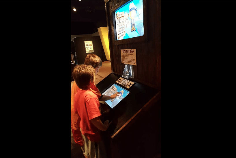 A Glimpse into the Shipwreck Exhibit at Durham Museum
