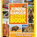 National Geographic Kids Junior Ranger Activity Book with puzzles and games based on the National Parks