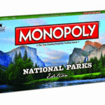 National Parks Edition Monopoly Board game