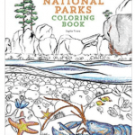 National Parks USA Coloring Book
