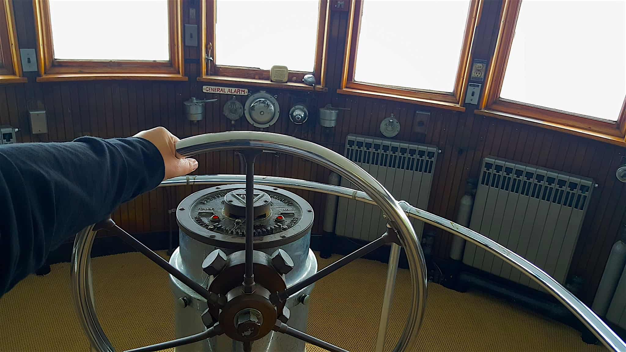 Exclusive Access Inside the Pilot House of the Historic Benson Ford Ship House