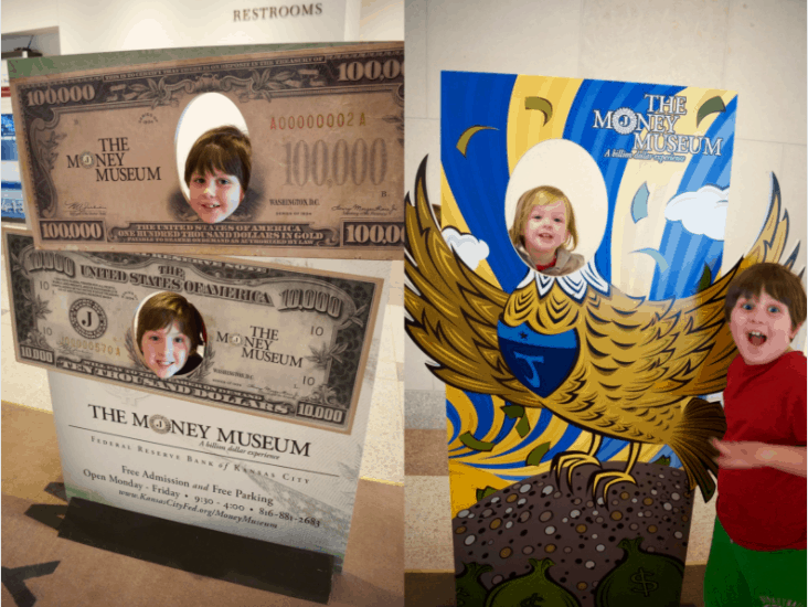 Money Museum Federal Reserve Bank Chasing History in the Kansas City Area in Missouri
