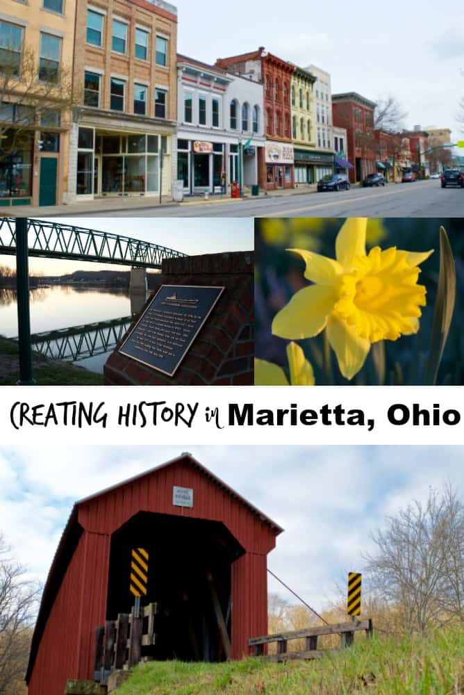 Creating History in Marietta Ohio