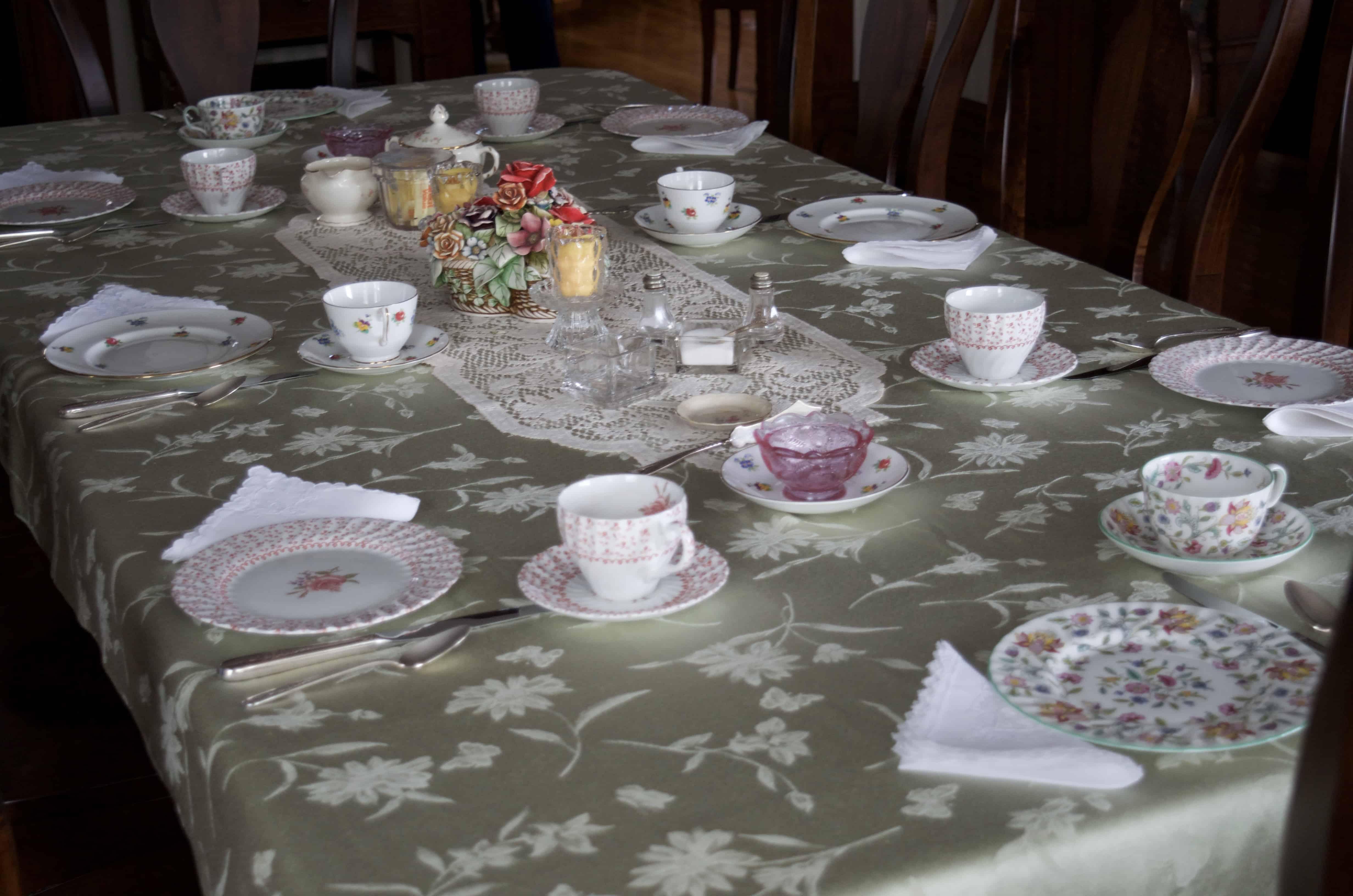 tea room in Marietta, Ohio