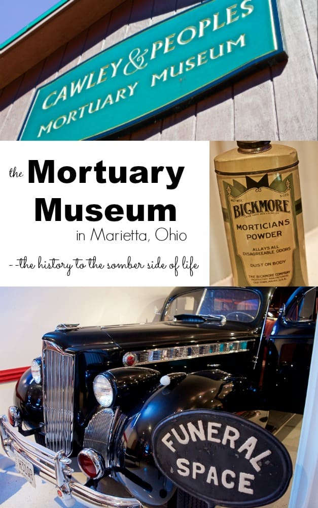 Mortuary Museum History in Marietta Ohio