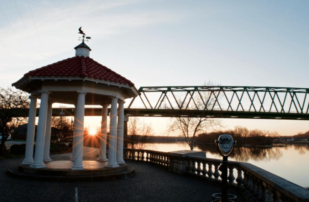 Sunrise in Marietta Ohio
