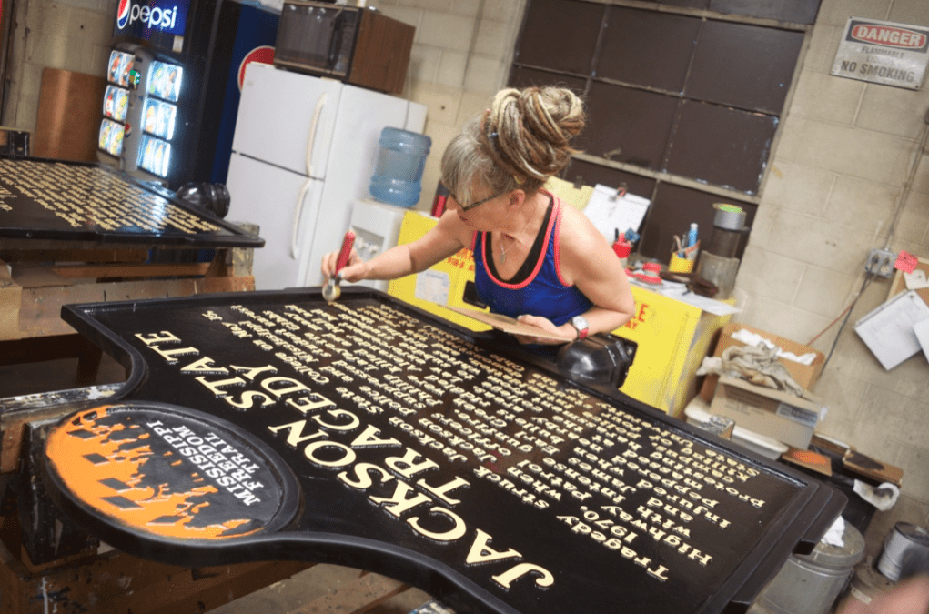 Sewah Studios - a Tour of the Historical Marker Handmade Factory