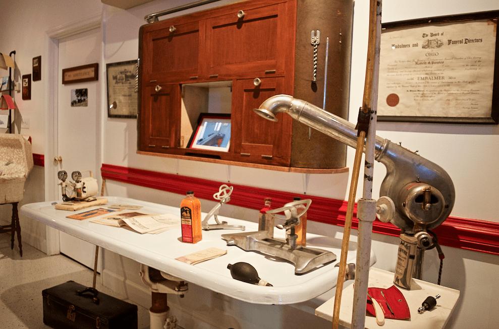 Mortuary Museum History in Marietta Ohio