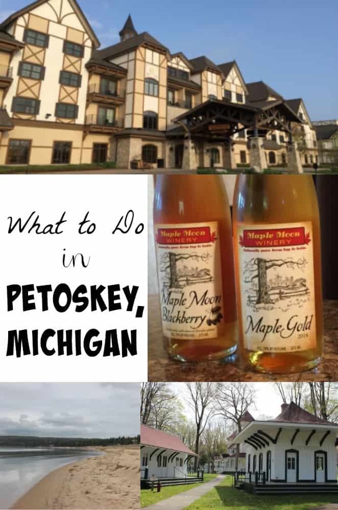 hotel, winery, and beaches in Petoskey Michigan