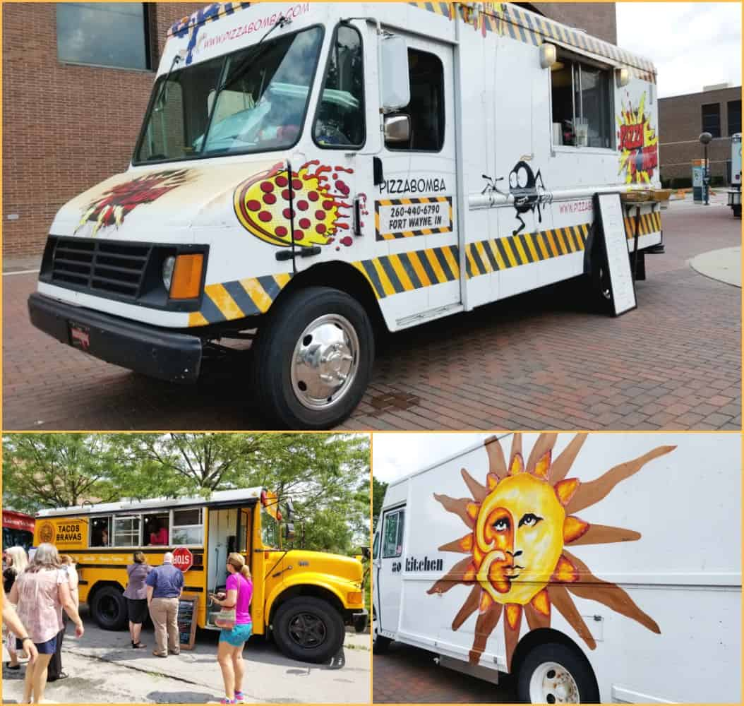 One Day for Some Really Good Food in Fort Wayne, Indiana - Food Trucks