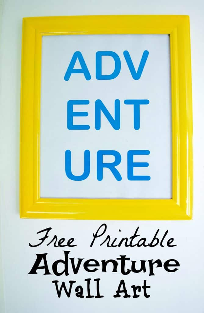 Free Printable Travel Adventure Explore Wall Art
