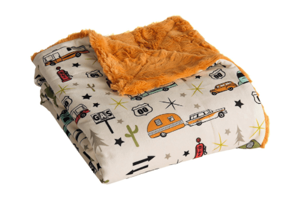 Soft Camper Travel Blanket