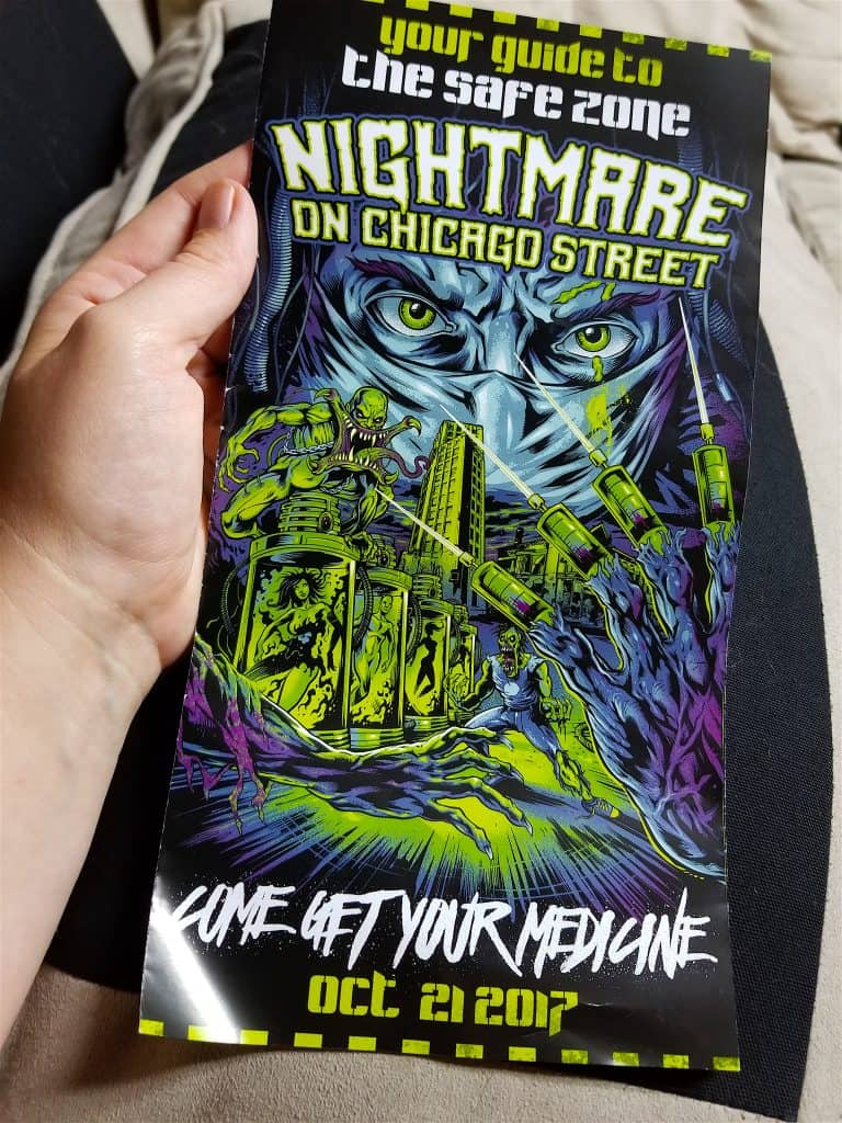 Surviving our First Zombie Experience at Nightmare on Chicago Street