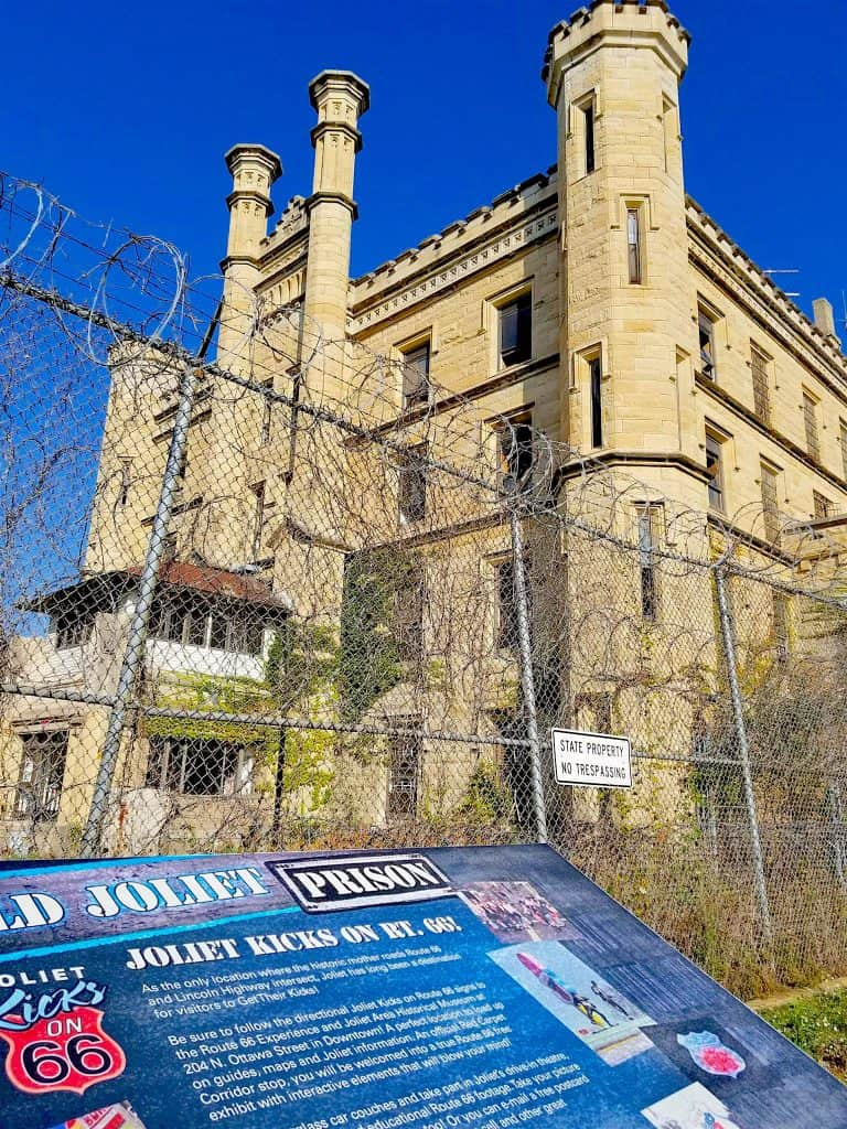 Old Joliet Prison Park in Joliet Illinois