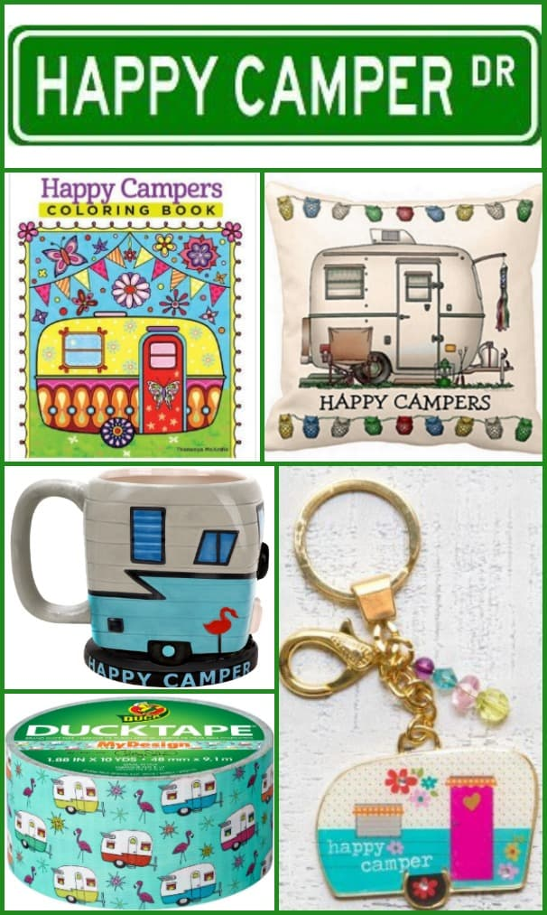 Happy Camper Gifts Ideas to Fuel the Camping Obsession